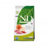 N&D для кошек 5 кг 98% BOAR&APPLE кабан,яблоко,смородина
