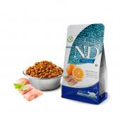 N&D для кошек 1,5 кг 98% HERRING&ORANGE океаническая рыба с апельсином