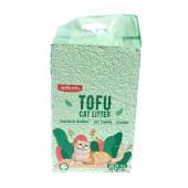 Наполнитель Emily Pets 6 л комкующийся соевый green tea зеленый чай