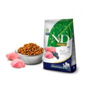 N&D для собак 2,5 кг 98% MEDIUM & MAXI ADULT LAMB & BLUEBERRY для средних и крупных пород с ягненком и черникой