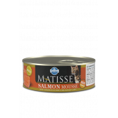 Matisse 85 гр ж/б Mousse Salmon для взрослых кошек мусс с лососем