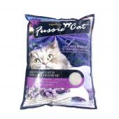 Наполнитель Fussie Cat 5 л Лаванда комкующийся бентонитовый