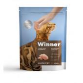 Winner для кошек 400 г для взрослых кошек всех пород с курицей