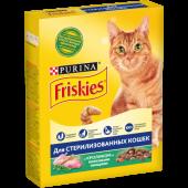 Friskies 300 г для стерилизованных кошек и котов с кроликом и полезными овощами